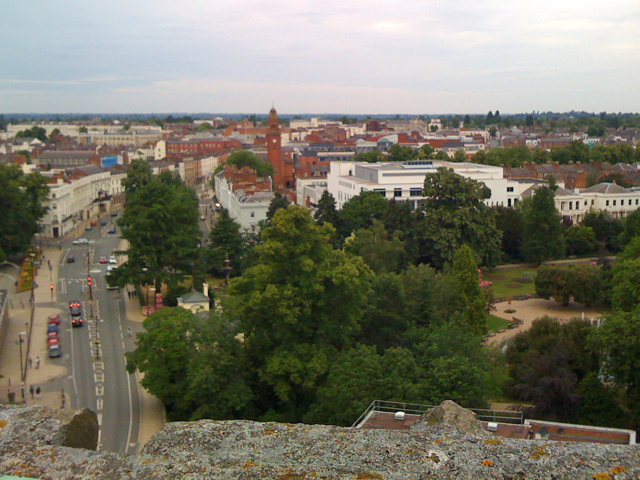 View from the tower of All Saints: 5/5