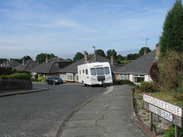 Piccadilly Close, Scotforth