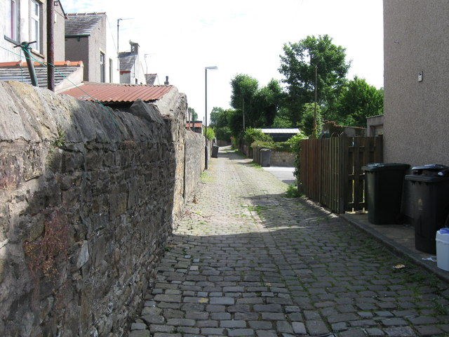 Cobbled Back Lane, Boweham