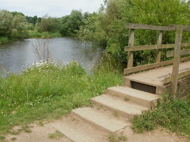 Footbridge by the River Tees