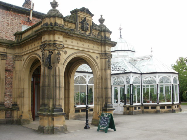Conservatory, Preston Hall