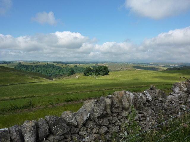 A view over Dove Dale
