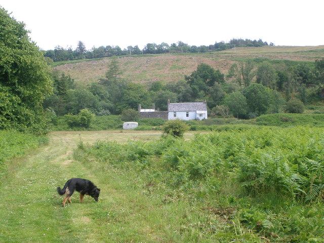 Lower Auchalick cottage