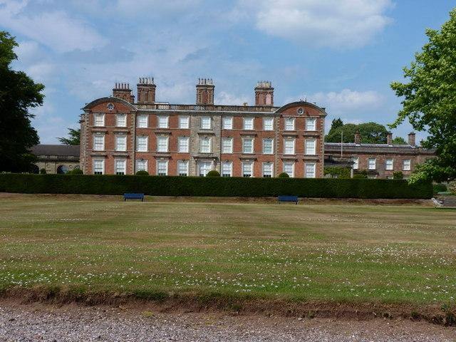 Weston Park - the main house