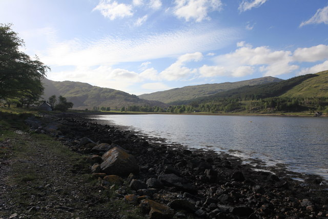 Loch á Choire, looking towards Kingairloch