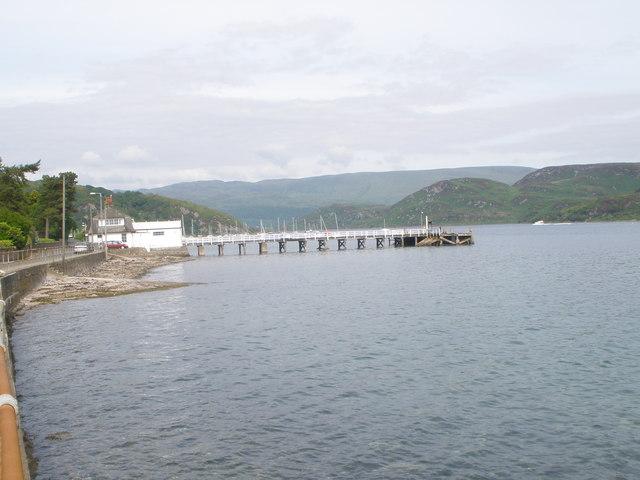 Tighnabruaich pier