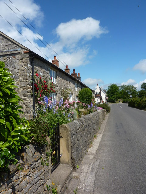 Cottages by the Dog and Partridge
