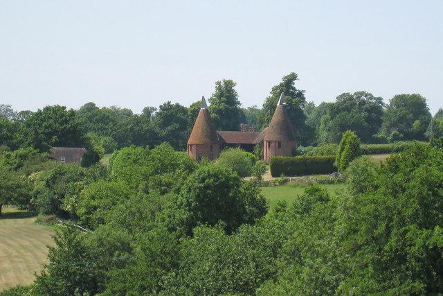 Parsonage Oast, East Sutton Hill, East Sutton, Kent