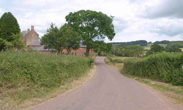 Lane at Beardley Farm