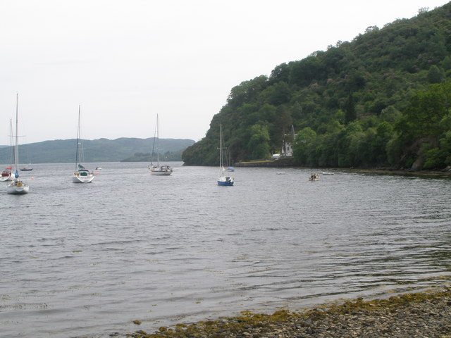 Loch Riddon and Ormidale Lodge