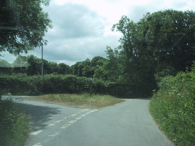 Road junction south of Chapple