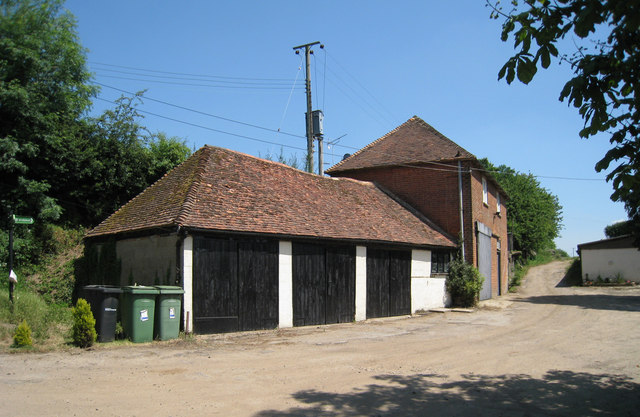 Barn and Garages at Morry House