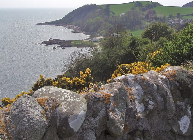 On a cliff top path