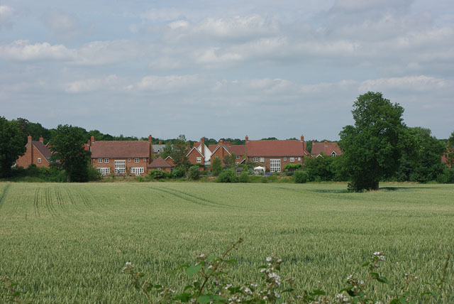 Houses in Mulberry Place, Newdigate