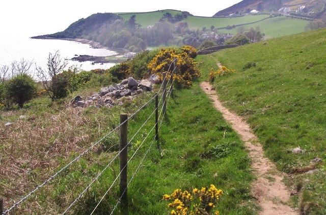 A cliff top path