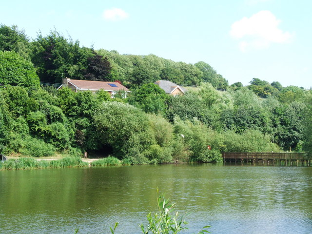 Lake at Capstone Farm Country Park