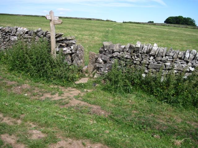 Footpath towards Bostern Grange Farm
