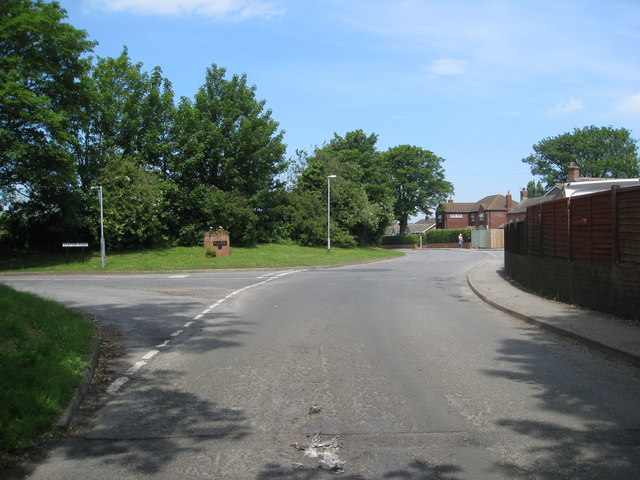 Entering the village of  Fulstow