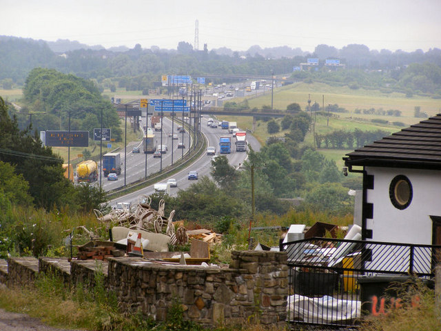 M62 From Whittle Hill