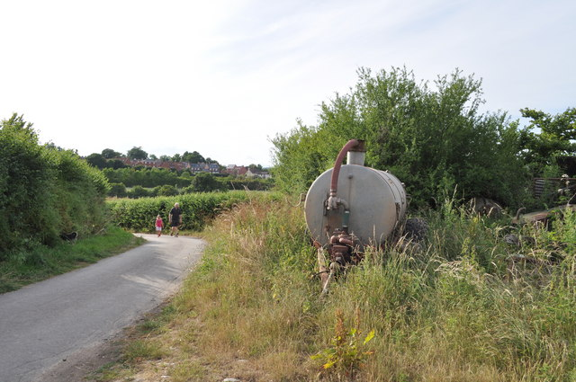 Looking along Sedbury Lane towards Tutshill