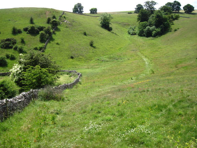 Footpath near Sharplow Farm towards Gag Lane