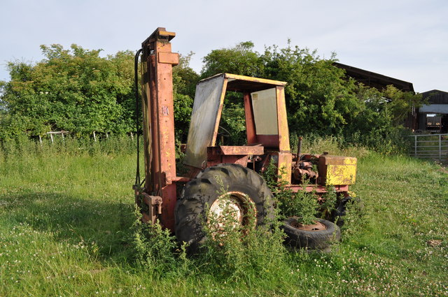 Disused agricultural equipment