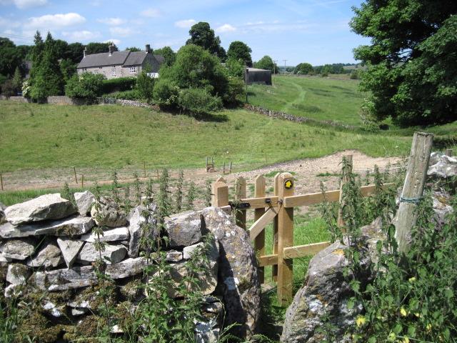 Footpath towards Newton Grange Farm