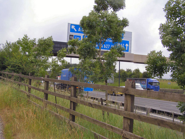 M62 at Whittle
