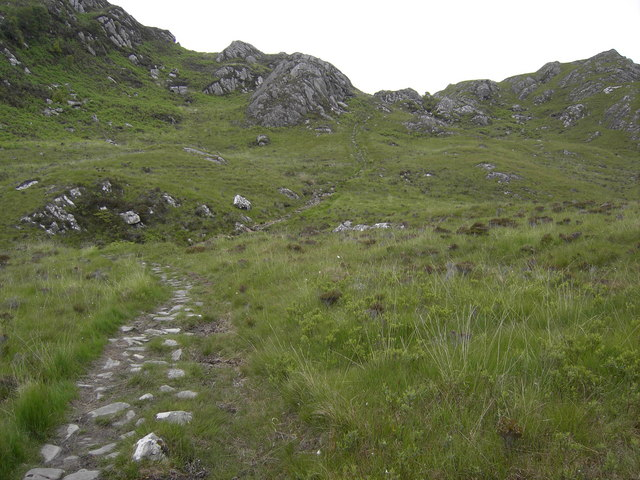 Footpath on Ardnish.