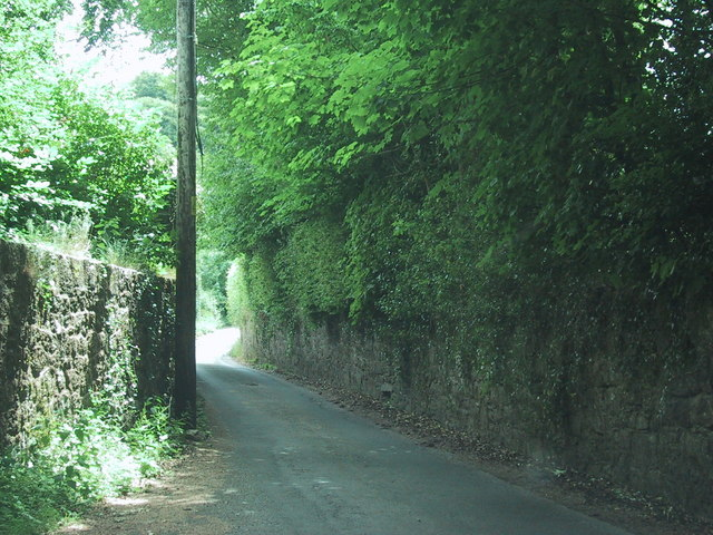 Road towards Nattardon Common