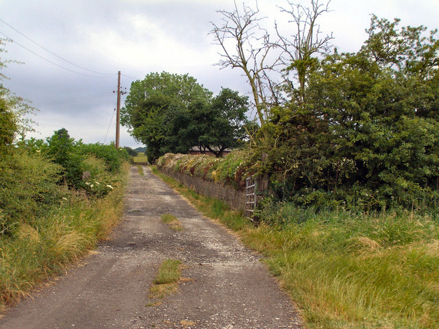 Simon Lane, towards Unsworth Moss