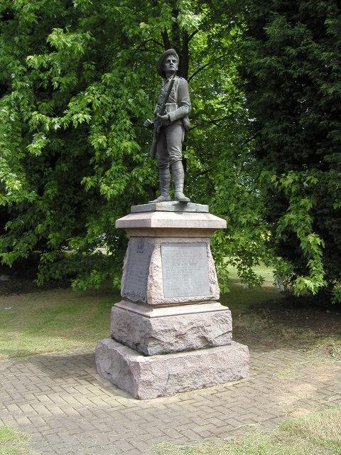 South Africa memorial, Coton Road