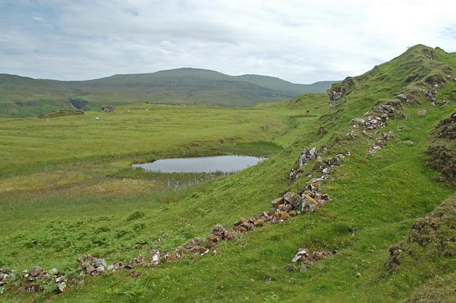 Lochan above the Fairy Glen
