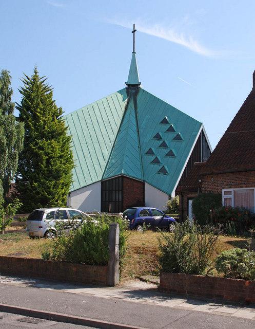 St Barnabas, Rushet Road, St Paul's Cray, Kent