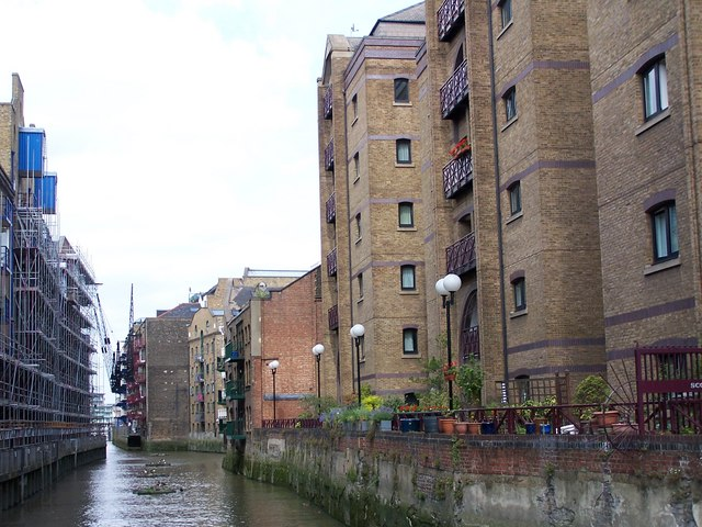 St Saviour's Dock, looking towards the Thames