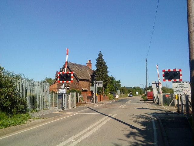 Level Crossing near Attenborough