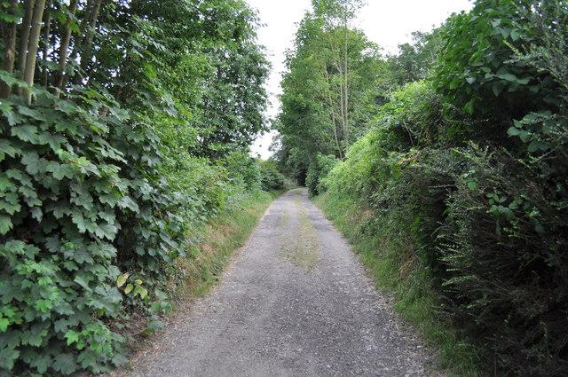 Penn Lane, leading to Pennsylvania Farm