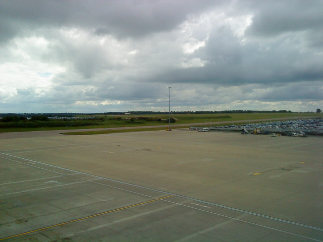Runway at Luton Airport