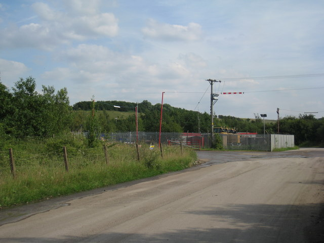 Machinery Compound and Site Office, Roxby Landfill