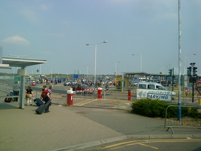 Priority parking at Luton Airport