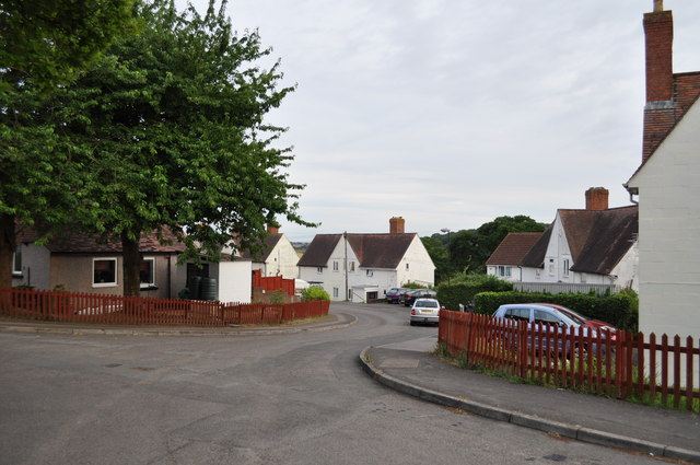 Junction of Mercian Way and Bridget Drive