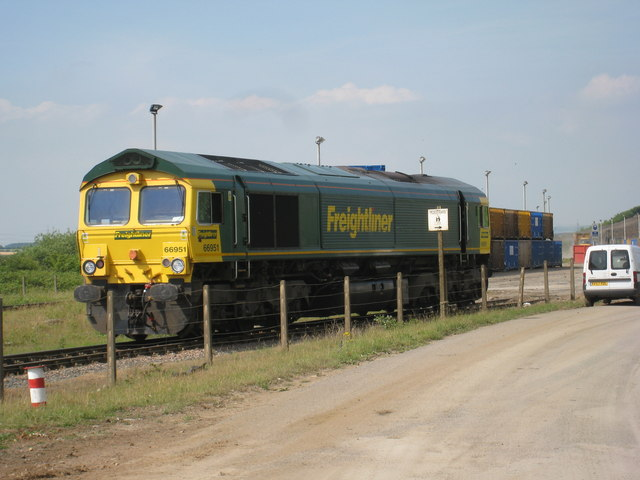 Locomotive, Roxby Container Terminal