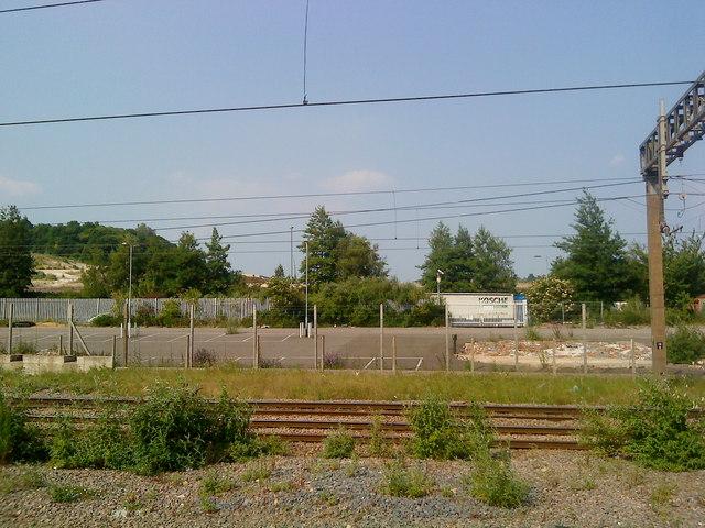 Wasteland near Luton Airport Parkway