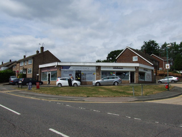 Shops on the corner of Lonsdale Drive and Sunningdale Drive, Rainham
