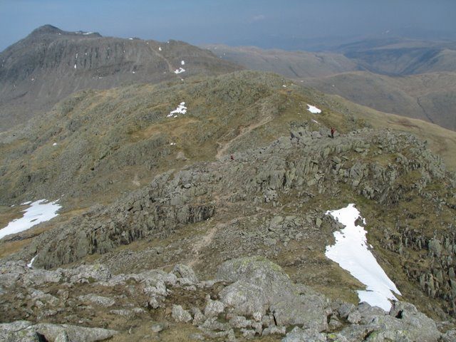 The Crinkle Crags Ridge
