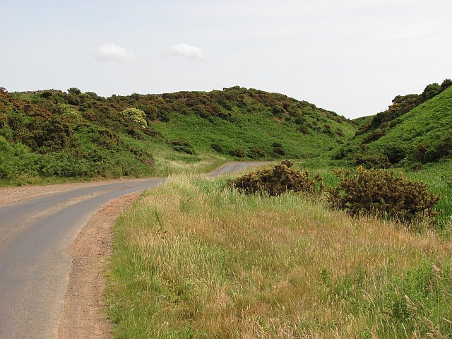 Road to Old Cambus Quarry