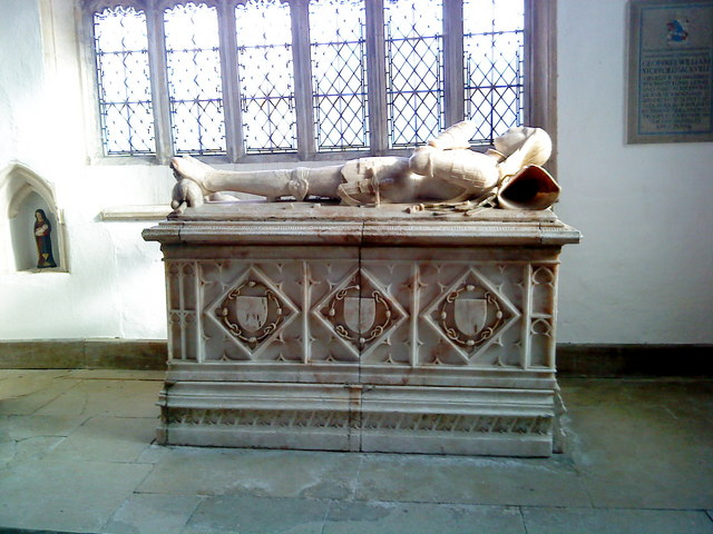 Monument for Edward Stafford, 2nd Earl of Wiltshire