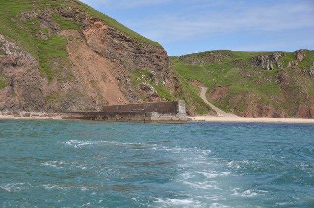 Tolsta Pier from seaward
