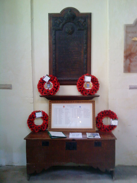 War memorial, St. Peter's Church, Lowick