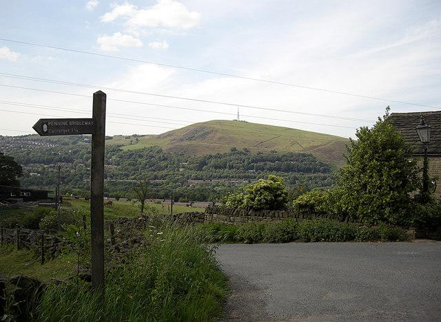 Pennine Bridleway, Woolleys Hill